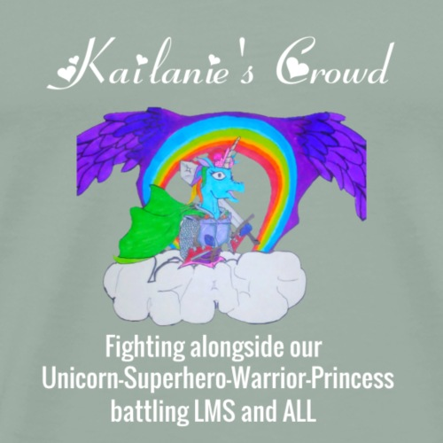 Kailanie's Crowd unicorn 2 - Men's Premium T-Shirt