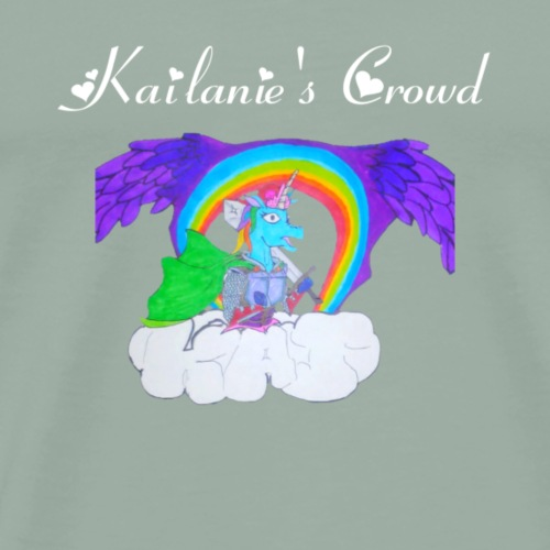 Kailanie's Crowd unicorn 1 - Men's Premium T-Shirt