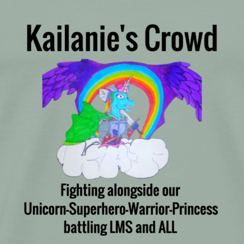 Kailanie's Crowd unicorn 4 - Men's Premium T-Shirt