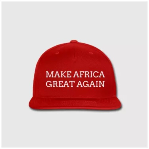 MAKE AFRICA GREAT AGAIN 365 - Men's Premium T-Shirt