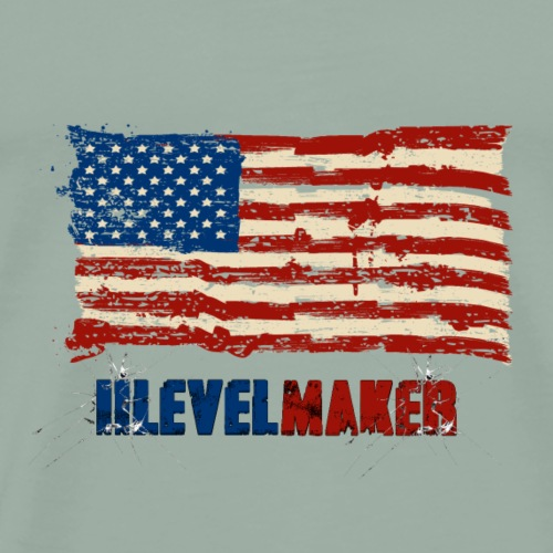 iiLevelMaker US Design - Men's Premium T-Shirt