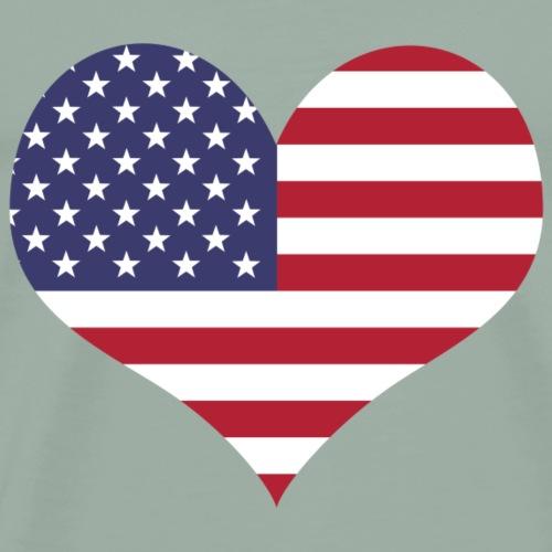 usa lover - Men's Premium T-Shirt