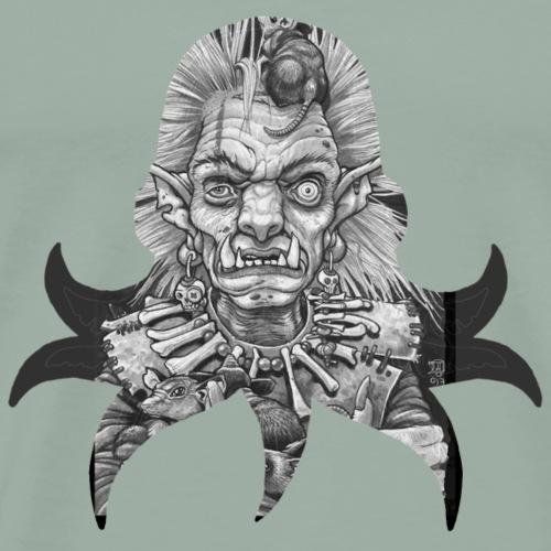 Cthulhu cult member - Men's Premium T-Shirt