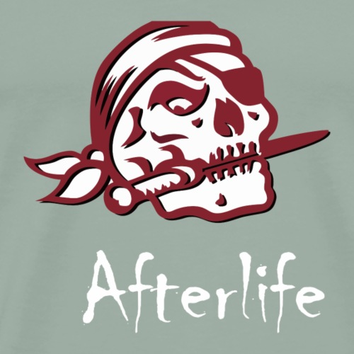 AfterLife Skull Green - Men's Premium T-Shirt
