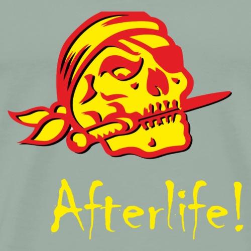 AfterLife Skull Red - Men's Premium T-Shirt