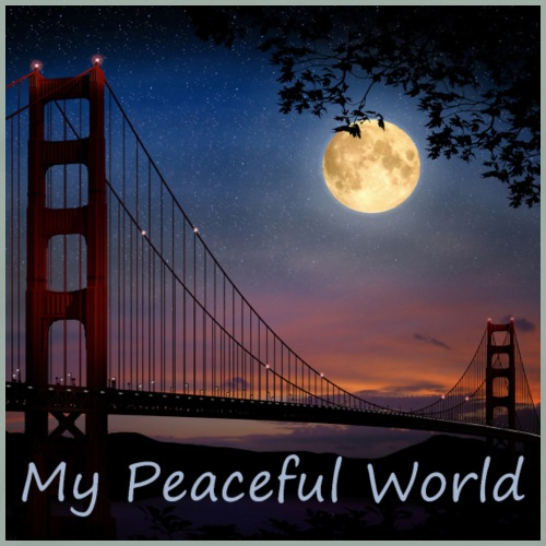 My Peaceful World - San Francusci - Men's Premium T-Shirt