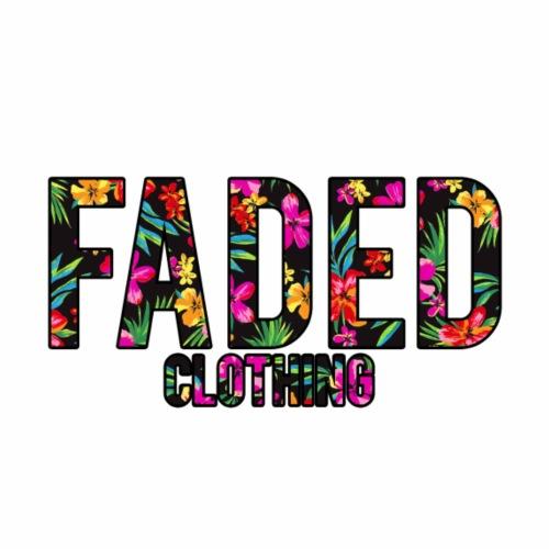 (LIMITED EDITION) Faded Logo - Hawaiian Dream - Men's Premium T-Shirt