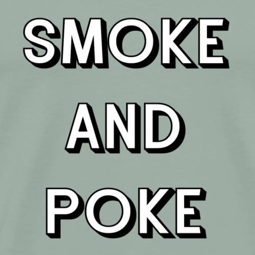 Smoke and Poke - Men's Premium T-Shirt