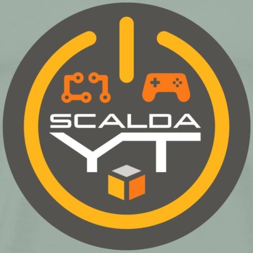 ScaldaYT Round Flat - Men's Premium T-Shirt