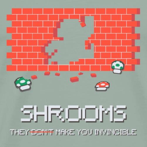 Uper Shrooms - Men's Premium T-Shirt