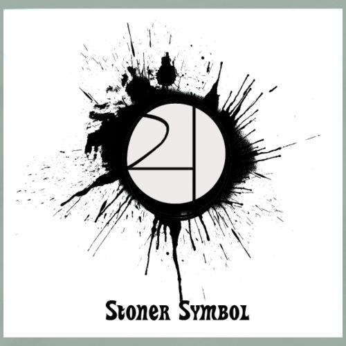 stoner symbol sticker - Men's Premium T-Shirt
