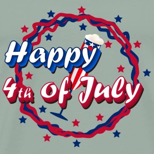 Happy 4th of July - Men's Premium T-Shirt