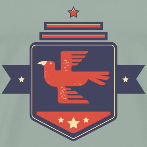 Eagle Emblem - Men's Premium T-Shirt