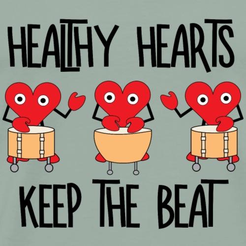 Healthy Hearts - Men's Premium T-Shirt