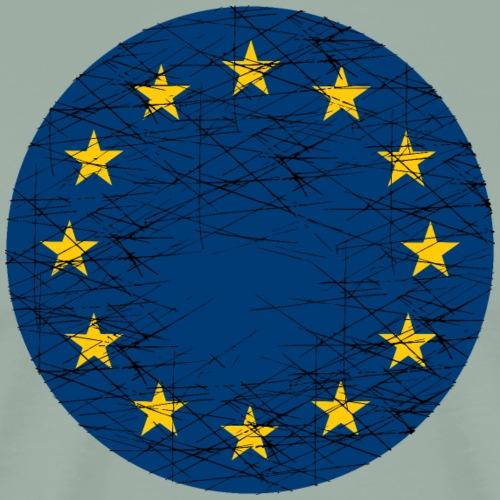 EU European Union Flag - Men's Premium T-Shirt