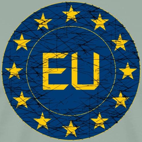 Flag of EU - Men's Premium T-Shirt