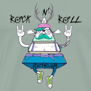 Funny Spectacular Rock N' Roll Christmas Gifts. - Men's Premium T-Shirt