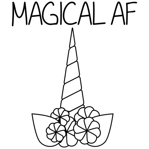 Magical AF - Men's Premium T-Shirt