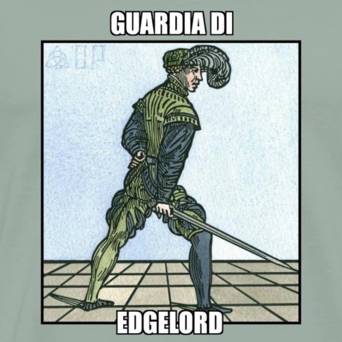 Guardia Di Edgelord - Men's Premium T-Shirt