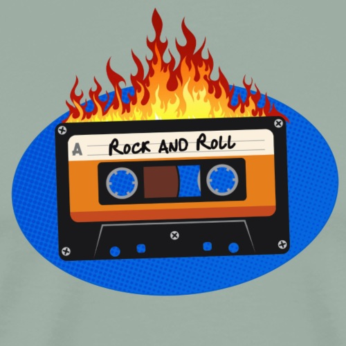 Rock and Roll - Men's Premium T-Shirt