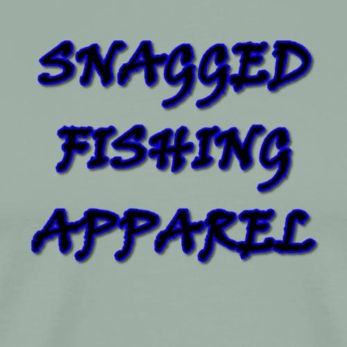 Snagged Fishing Apparel - Viner Text - Dark - Men's Premium T-Shirt