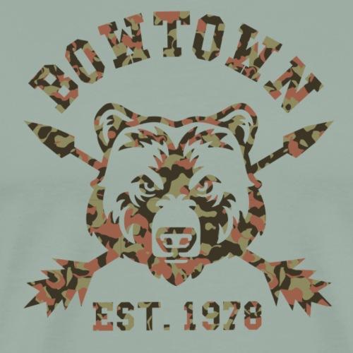 BOWTOWN Logo (Archery by BOWTIQUE) - Men's Premium T-Shirt