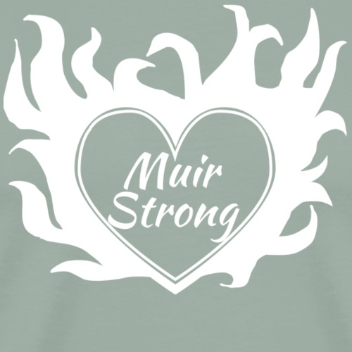 Flaming Heart Muir Strong - Men's Premium T-Shirt