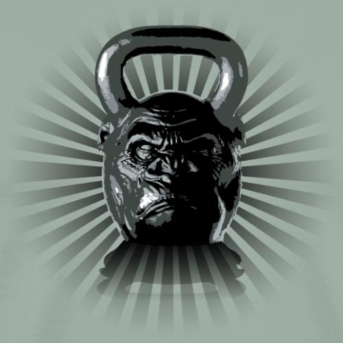 Gorilla Kettlebell - Men's Premium T-Shirt