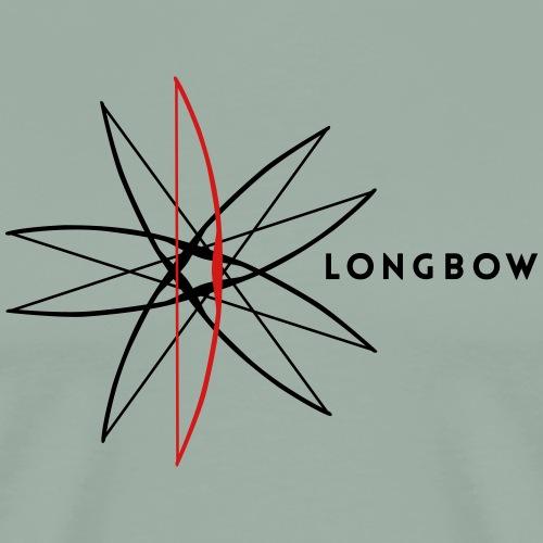 Longbow Eccentric (Archery by BOWTIQUE) - Men's Premium T-Shirt