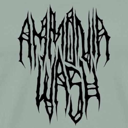 Black Metal logo - Men's Premium T-Shirt