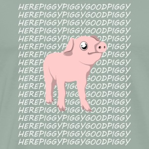 Here Piggy Piggy Good Piggy - Pig T-Shirt - Men's Premium T-Shirt