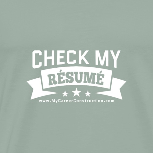 CheckMyResume - Men's Premium T-Shirt