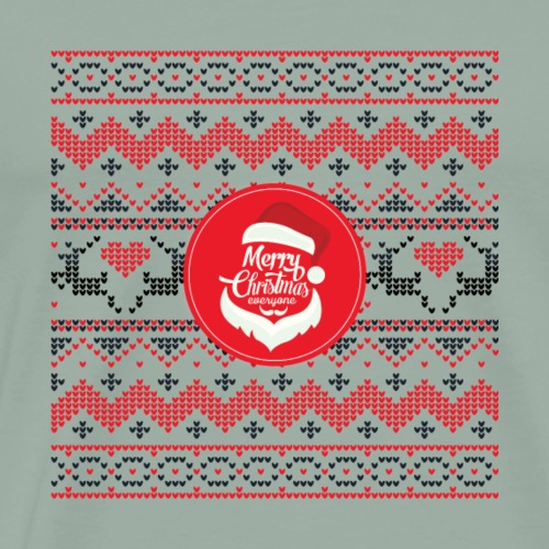 Merry Christmas Ugly Christmas gift - Men's Premium T-Shirt