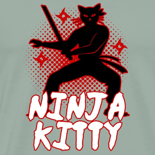 Ninja Kitty - Men's Premium T-Shirt