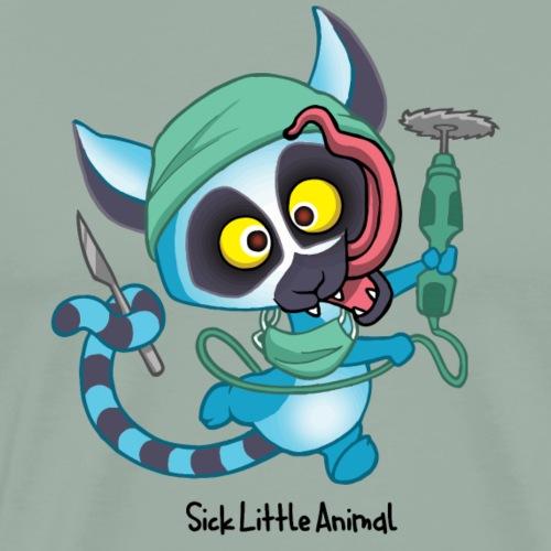Sick Little Lemur - Men's Premium T-Shirt