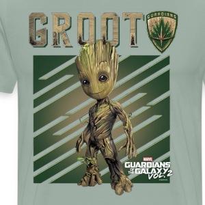 Marvel GROOT Guardians of Galaxy Vol 2 1 - Men's Premium T-Shirt
