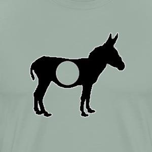 A-HOLE - Funny Design - Men's Premium T-Shirt