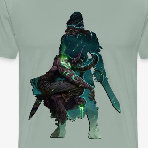 Fighter Inner Demon - Men's Premium T-Shirt