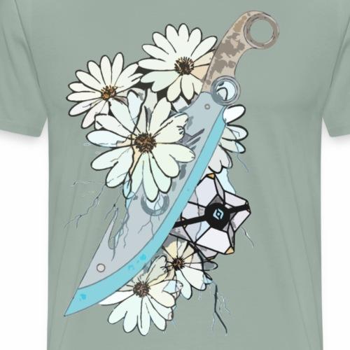 The Dancer's Blade - Men's Premium T-Shirt