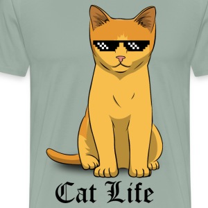 CAT LIFE - Men's Premium T-Shirt