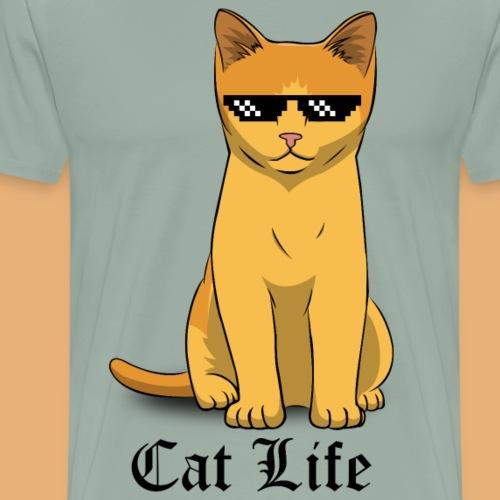 CAT LIFE - Men's Premium T-Shirt
