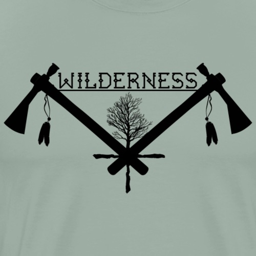 Wilderness - Men's Premium T-Shirt