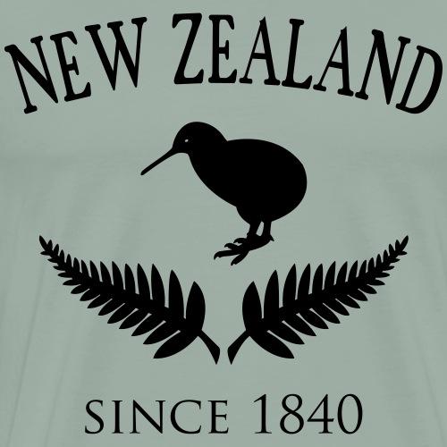 New Zealand Design - Men's Premium T-Shirt
