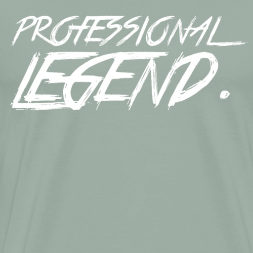 Professional Legend White - Men's Premium T-Shirt