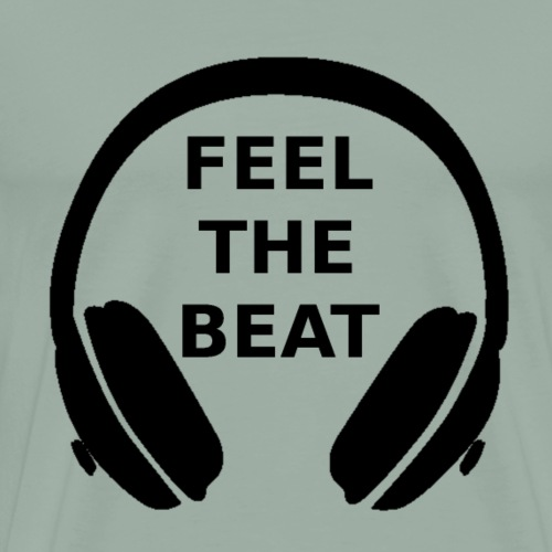 Feel the beat - Men's Premium T-Shirt
