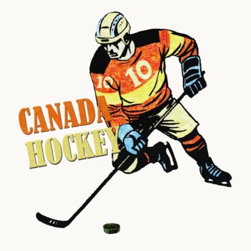 CANADA HOCKEY Carolyn Sandstrom THREADLESS - Men's Premium T-Shirt
