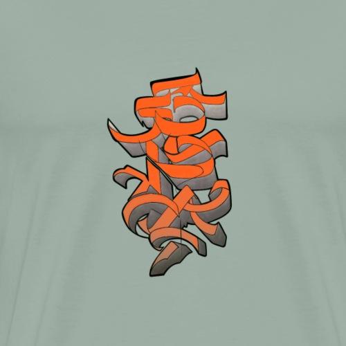 Asia Graff 1 - Men's Premium T-Shirt