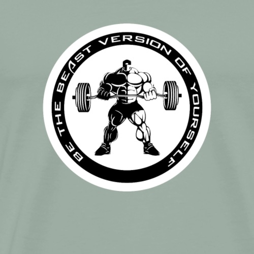 Be the beAst version of yourself Recovered FV - Men's Premium T-Shirt