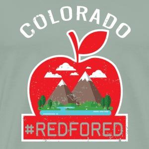 Red For Ed Shirt Colorado Teacher Protest Walkout - Men's Premium T-Shirt