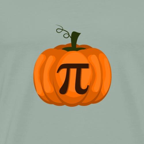 Pumpkin Pi for Halloween or Thanksgiving - Men's Premium T-Shirt
